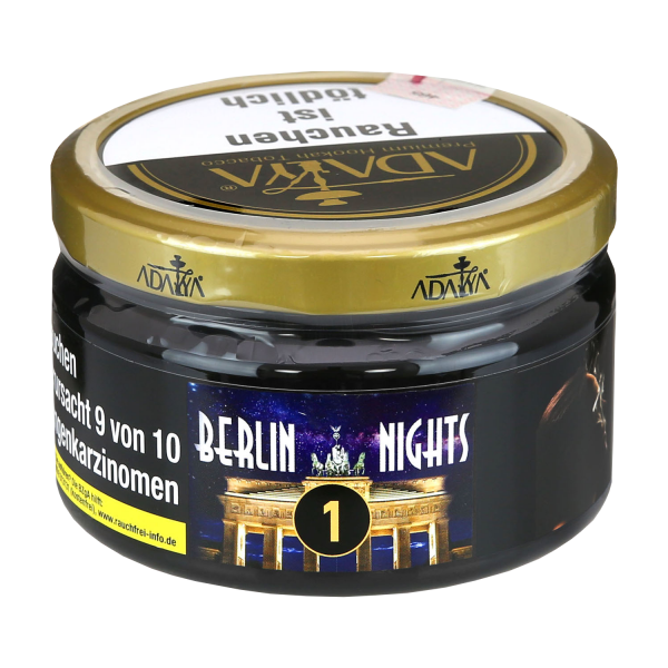 Adalya Tabak 200 g - Berlin Nights 1