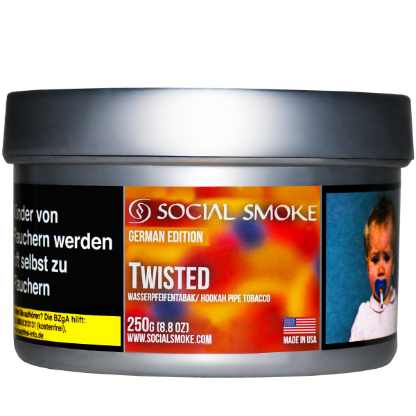 Social Smoke Tobacco 250 g - TWISTED