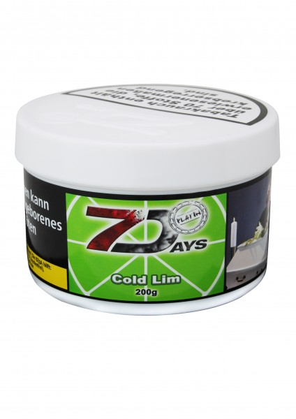 7 Days Platin 200 g - Cold Lim