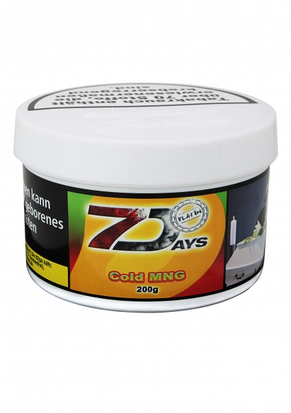 7 Days Platin 200 g - Cold MNG