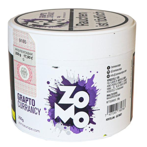 ZoMo 200g - Grapto Currency