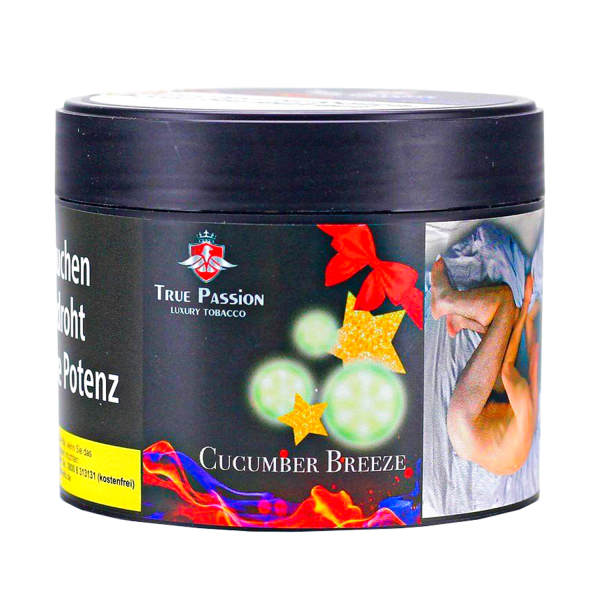 True Passion Tobacco 200g - CUCMBER BREEZE