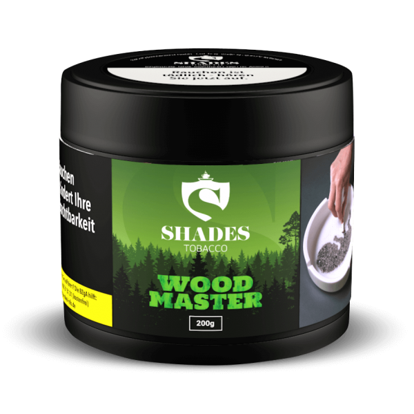 SHADES TOBACCO - Woodmaster – 200g