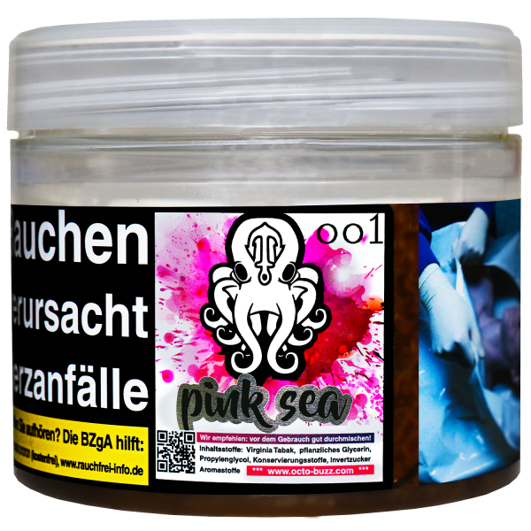 Octo Buzz Tobacco 200g - Pink Sea